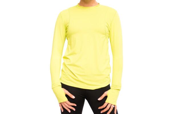 running shirt green