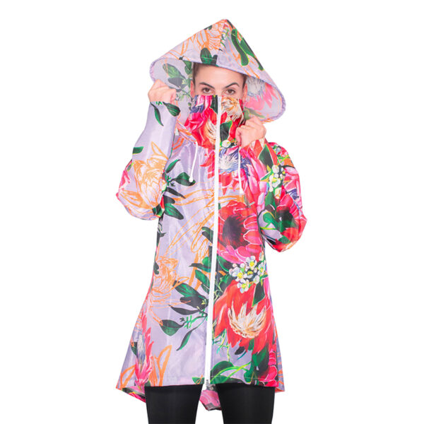 blooming in protea jacket